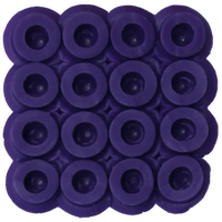 Bead color: Purple No. 11