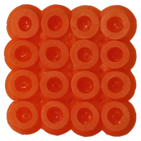Bead color: Orange No. 13
