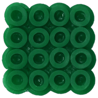 Bead color: Green No. 16