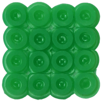 Bead color: Light green No. 22