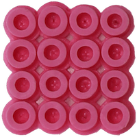 Bead color: Pink No. 25