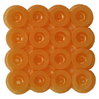 Bead color: Light orange No. 29