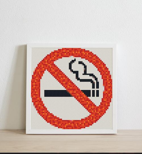 No smoke sign