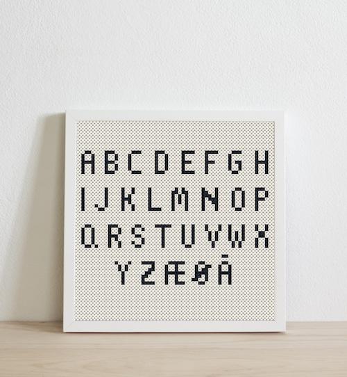 Dansk/Norska alfabetet
